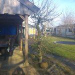 Gezinshuis tuin Zwaagdijk